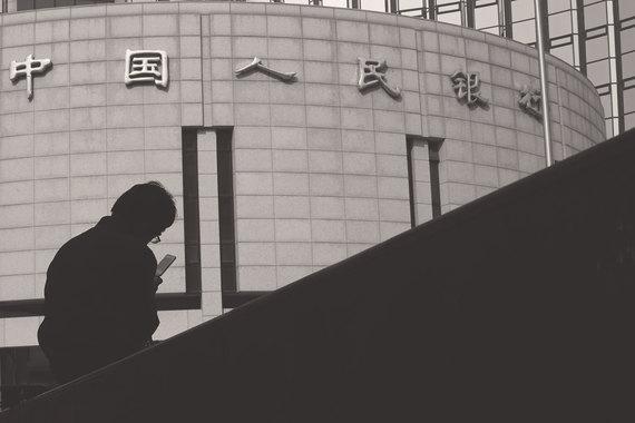 В Китае доля онлайновых банковских операций упала за два года с40 до 25%, а доля мобильных выросла с 15 до 42%