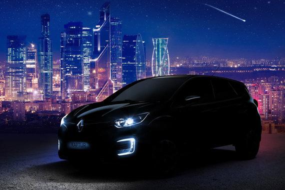 Продажи Renault Kaptur в России начнутся в июне