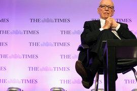 Британские газеты Руперта Мердока в прошлом году увеличили прибыль