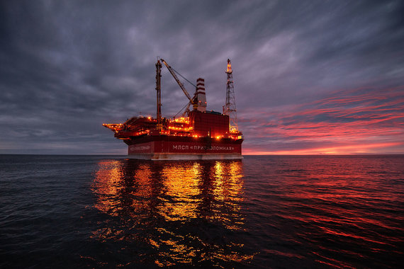 Приразломное месторождение пока не приносит прибыли «Газпром нефти»