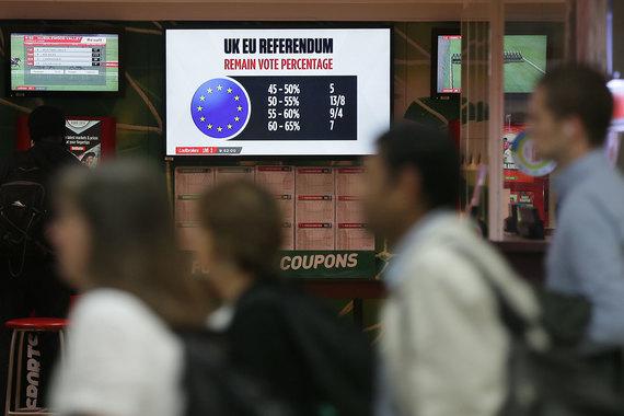 Трейдеры и инвесторы готовятся отыгрывать результаты британского референдума