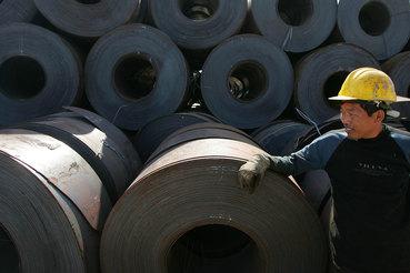 С помощью слияния Baosteel и Wuhan Iron & Steel власти пытаются решить проблему избыточных мощностей