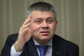 Олег Ганеев возглавил «Сбербанк CIB» в ноябре 2014 г.