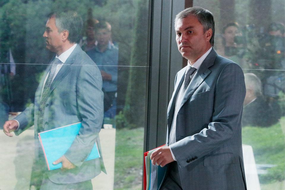 Вячеслав Володин уйдет в отпуск, но заботиться о чистоте выборов не прекратит