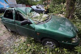 Большинство вопросов связано с повреждениями автомобилей