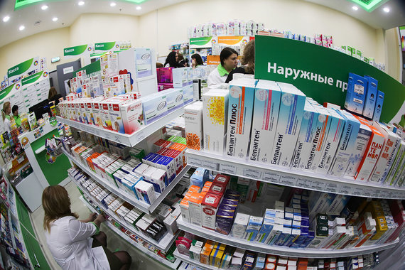 Аптечные сети хотят законодательно ограничить количество аптек