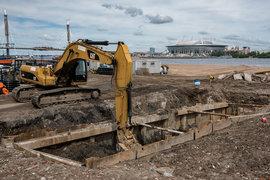 Смольный в начале недели в одностороннем порядке расторг контракты с генподрядчиком строительства стадиона «Инжтрансстрой-СПб»