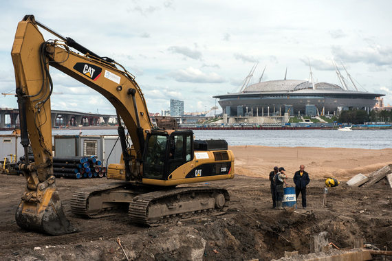 Петербург дополнительно выделит надостройку «Зенит-Арены» 2,6 млрд рублей