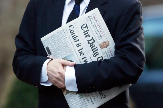 Владельцы Daily Telegraph отказались торговать печатное издание бизнесмену Евгению Лебедеву