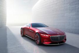 Дизайн концепта Vision Mercedes-Maybach 6 с посадочной формулой 2+2 отдает дань уважения эпохе купе в стиле Aero