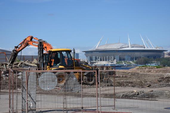 Смольный заключил с«Метростроем» договор надостройку стадиона «Зенита»
