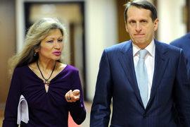 Джахан Поллыева пришла в парламент за Сергеем Нарышкиным, ее уход вызывает вопросы и о будущем председателя Госдумы предыдущего созыва
