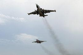 Они покинули иранский аэродром после трех боевых вылетов в Сирию