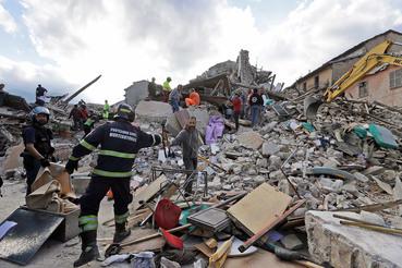 Сильнее всего пострадал горный городок Аматриче