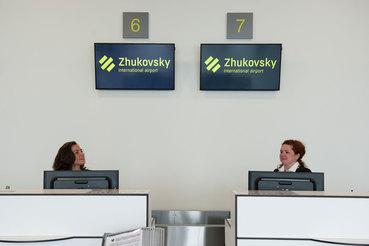 12 сентября международный аэропорт «Жуковский» примет первый рейс