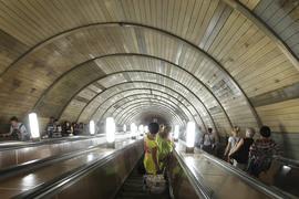Столичная подземка уже больше года живет без рекламы