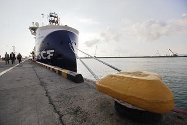 Государство побаивается рыночных потрясений и решило придержать судоходную компанию (на фото – судно трехмерной сейсмической разведки «Вячеслав Тихонов»)