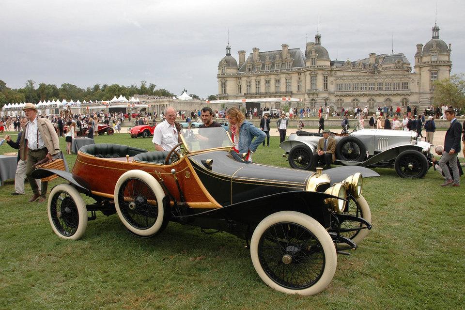 Panhard & Levassor X19 Skiff Torpedo 1912 г., победитель конкурса Chantilly Art & Elegance Richard Mille 2016 в категории «Необычные кузова»