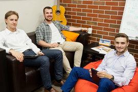 Андрей Подгорнов, Евгений Жихарев и Борис Школьников (слева направо) начинали карьеру в консалтинговых фирмах