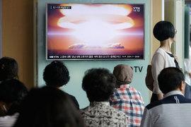 Центральное телевидение КНДР официально сообщило об успешном пятом ядерном испытании 9 сентября