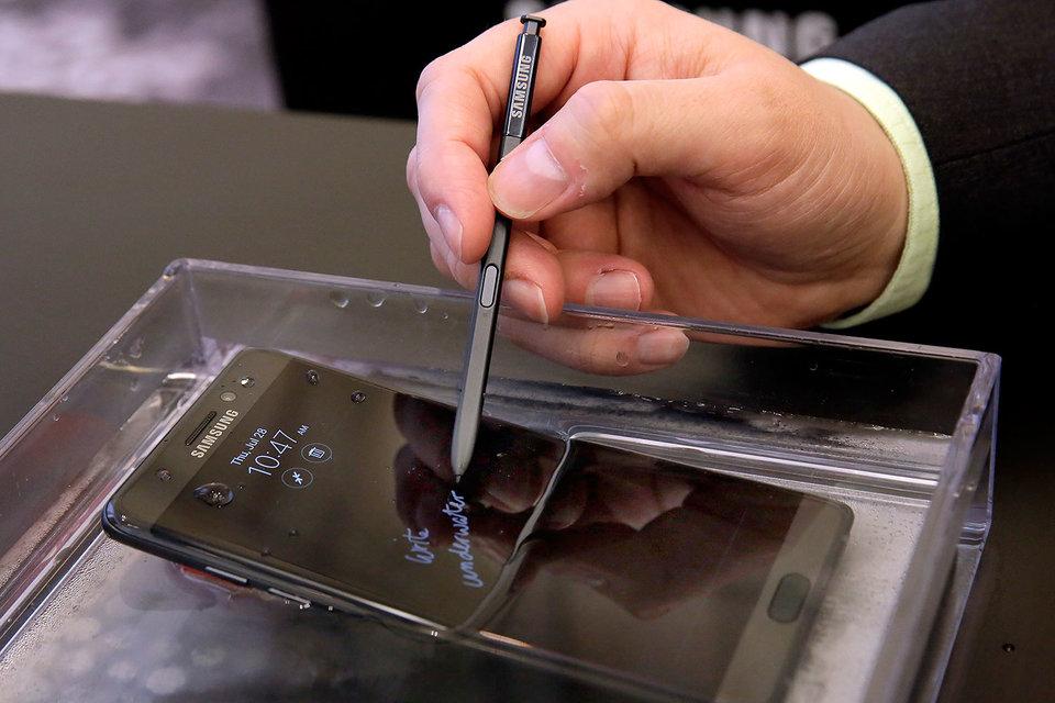 Note 7 подорвал Samsung