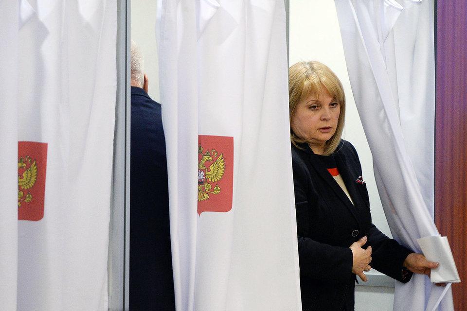 Элла Памфилова стала главным арбитром в спорах между кандидатами