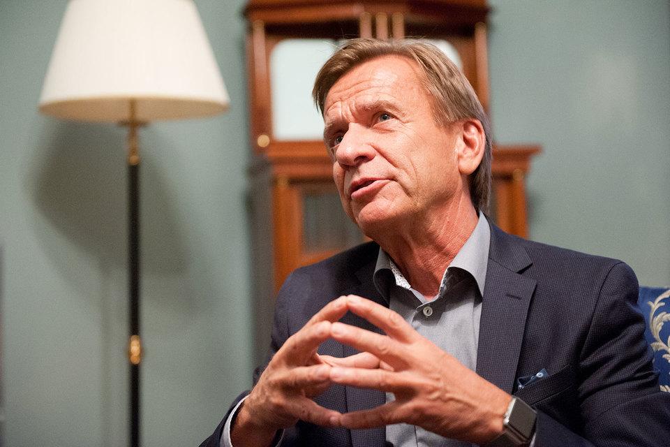 Президент и гендиректор Volvo Cars Хокан Самуэльссон