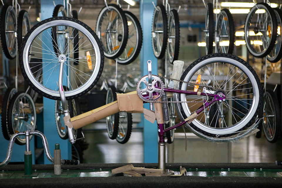 UCRusal будет производить рамы для велосипедов