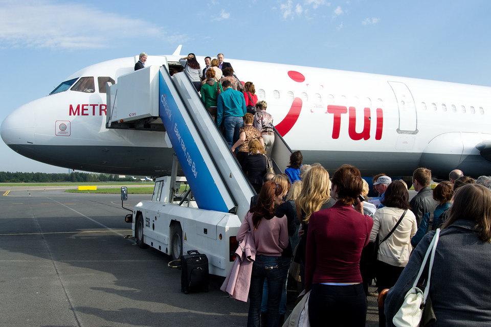 Пассажирские авиаперевозки в Российской Федерации упали на12%
