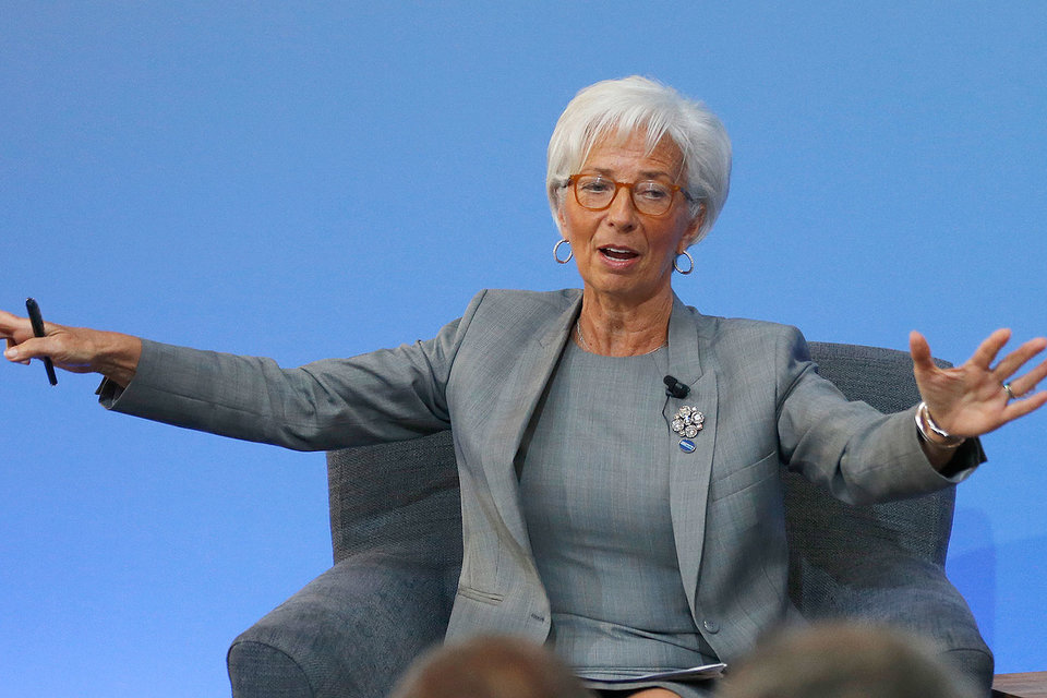 Кристин Лагард увидела признаки восстановления экономики Украины