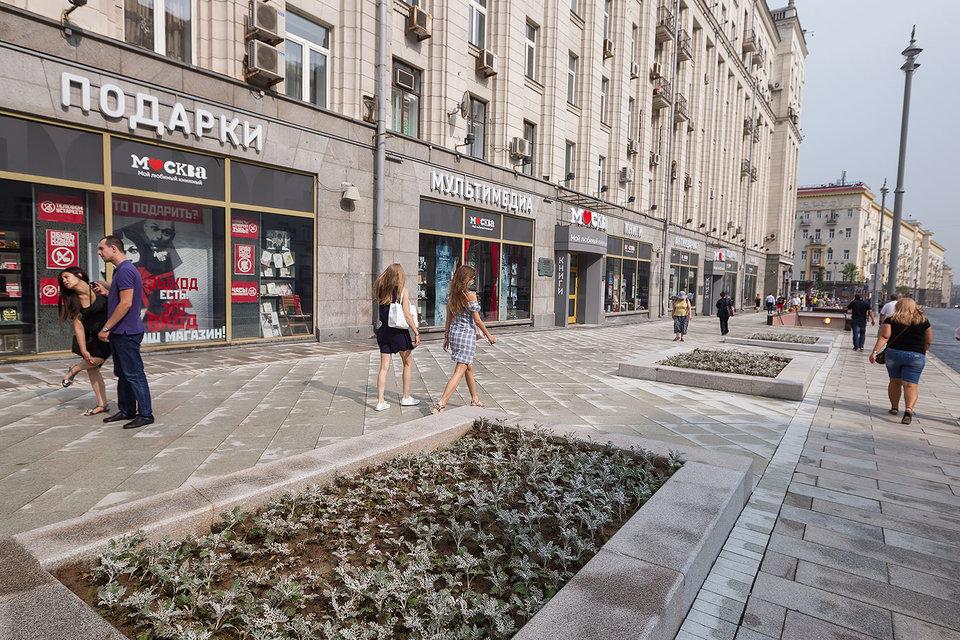 Под благоустройство по программе «Моя улица» этим летом попали 52 улицы, в том числе Тверская