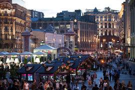Москва – один из самых освещенных городов мира