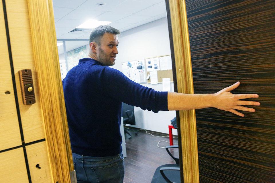Алексей Навальный обжаловал в Страсбургском суде решение Минюста о ликвидации Партии прогресса