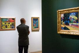 Картины Кандинского все же главные на выставке