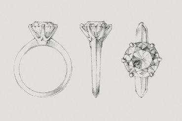 Новые вариации колец для помолвки созданы к 130-летнему юбилею классической модели Tiffany Setting
