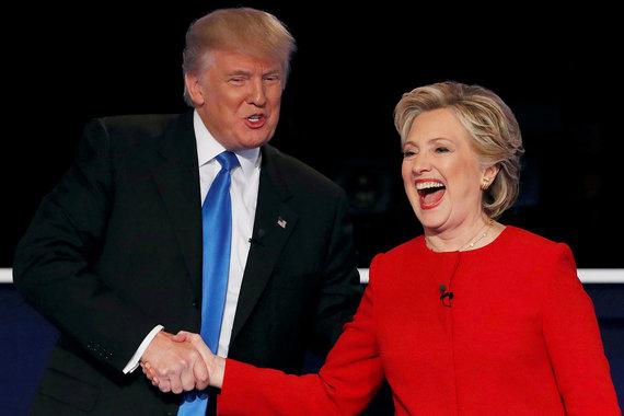 Кандидат от республиканцев Дональд Трамп проиграл первые дебаты своему сопернику на выборах президента США – кандидату от демократической партии Хиллари Клинтон