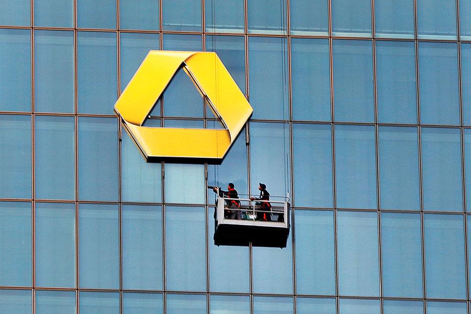 Германский Commerzbank может сократить неменее 9 тыс. служащих