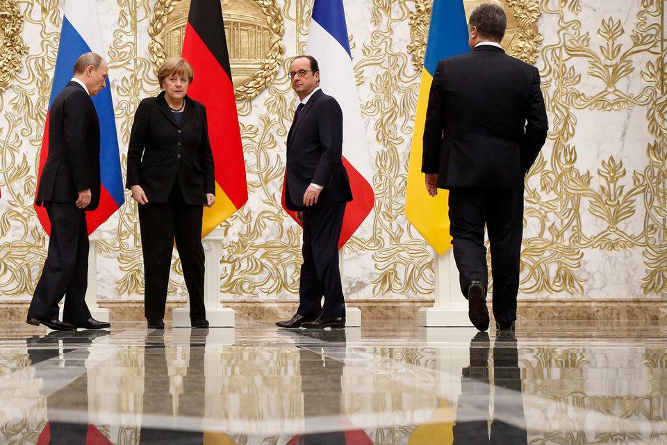 ВКремле неисключают созыва совсем скоро саммита «нормандской четверки»