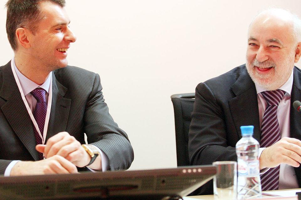 Вексельберг и Прохоров