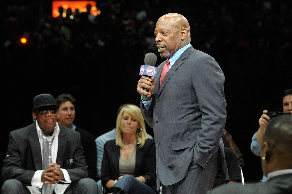 Владелец Piston Group, бывший игрок NBA Винни Джонсон