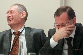 Надзорный блок ЦБ ждут большие перемены (слева – Алексей Симановский, справа – Михаил Сухов)