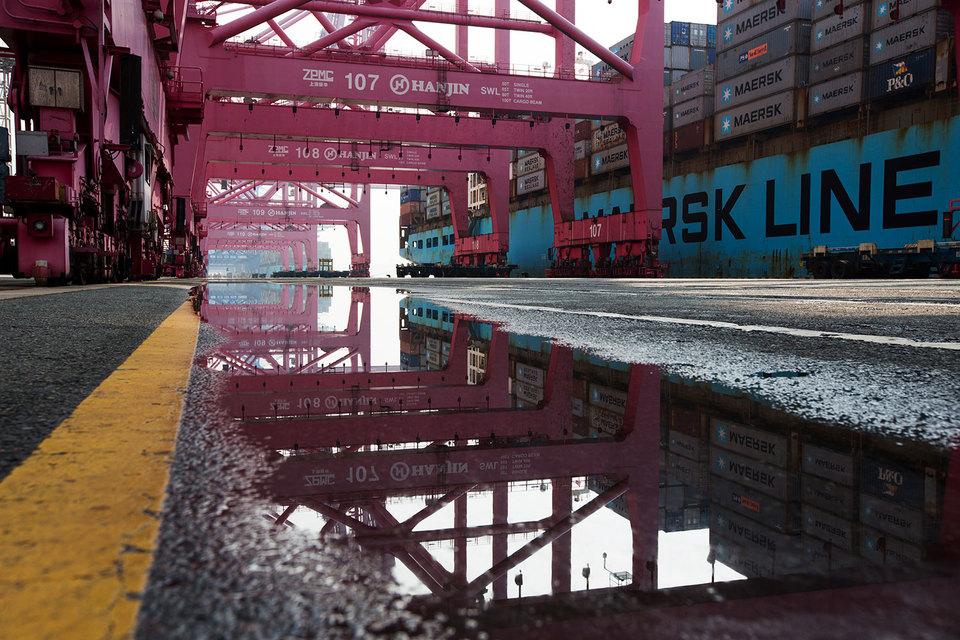 Объем морских контейнерных перевозок за последние 40 лет никогда не рос так медленно, как в этом году