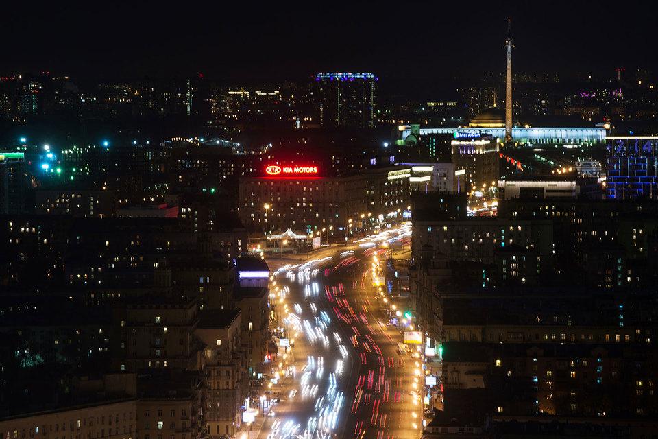 Москва решила построить дублер Кутузовского проспекта за свой счет