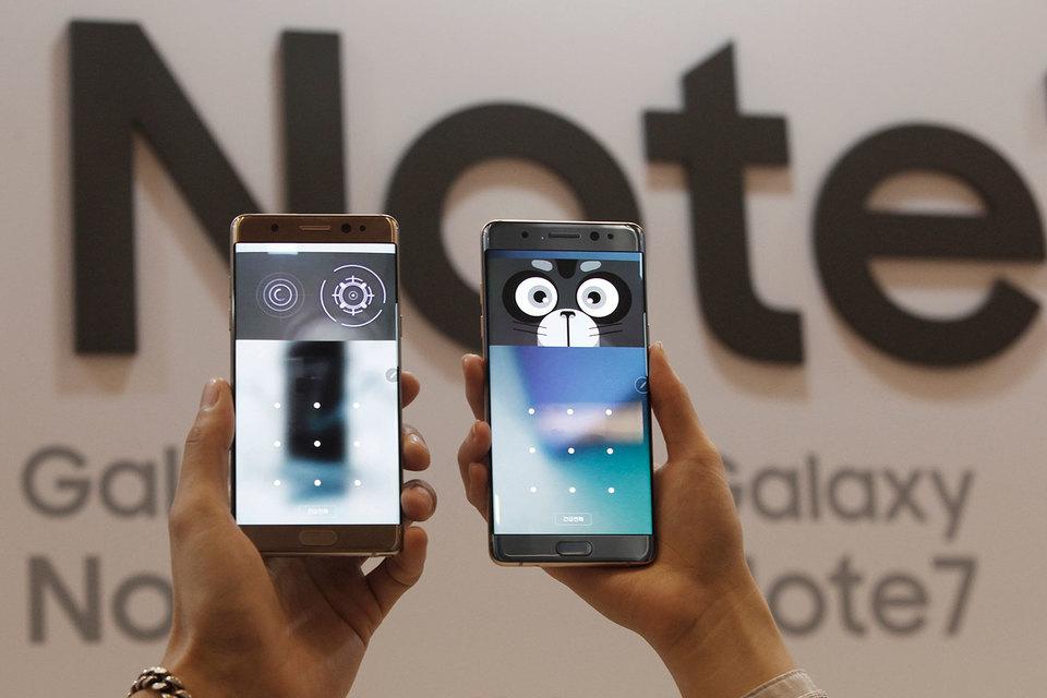 Samsung Electronics временно прекратил производство смартфонов Galaxy Note 7
