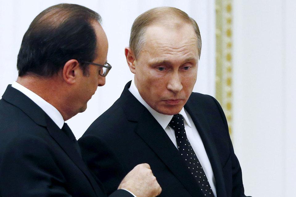 Путин отказался отвстречи сОлландом