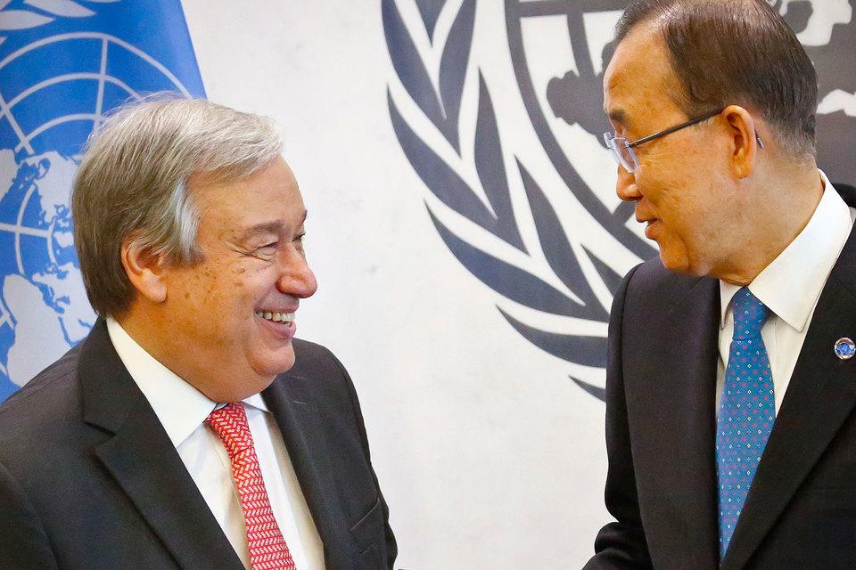 Генеральный секретарь ООН избирается на пять лет с возможностью переизбрания