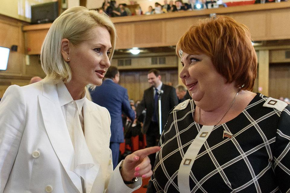 Руководителем Росреестра и замминистра экономического развития назначена Виктория Абрамченко (на фото слева)