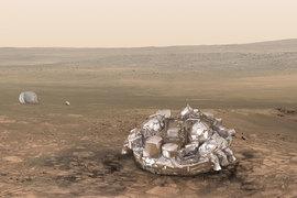 ESA получило сигнал с марсианского модуля Schiaparelli