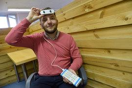Принцип работы навигатора, говорит Виталий Китаев, напоминает детскую игру