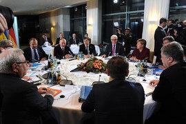Саммит «нормандской четверки» в Берлине не принес видимых результатов